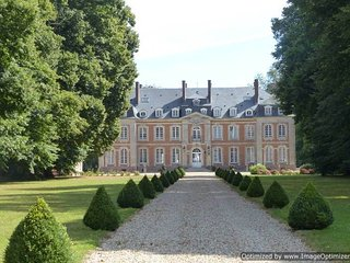 Chateau Normandie holiday vacation wedding large chateau rental france - Serquigny vacation rentals