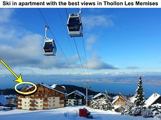 Penthouse Ski & Summer rental - Thollon-les-Memises vacation rentals