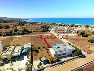 Seafront Villa Carlos with luxury garden - Mastichari vacation rentals