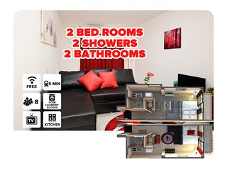 OKA 2 apartment joint apartments! - Osaka vacation rentals
