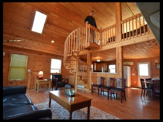 Gorgeous 4 Story log home - Lake Harmony vacation rentals