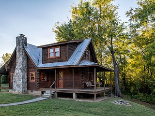 Rippling Waters Retreat | Riverfront Cabin - Townsend vacation rentals