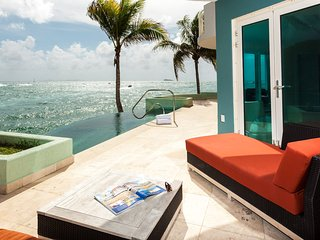 LIGHTHOUSE 1B....Fabulous oceanfront 3 BR Luxury condo with private pool &amp - Oyster Pond vacation rentals