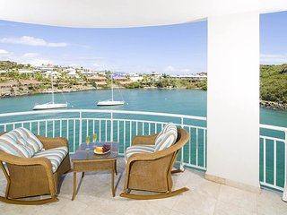 LIGHTHOUSE 5A... 3BR condo overlooking Oyster Pond, St Maarten - Dawn Beach vacation rentals