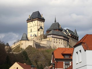 1 bedroom Condo with Internet Access in Karlstejn - Karlstejn vacation rentals