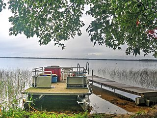 NEW! Lakefront 3BR Gould City Cabin w/Private Dock - Gould City vacation rentals