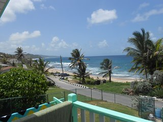 Beautiful view of the East coast from the patio - Bathsheba vacation rentals