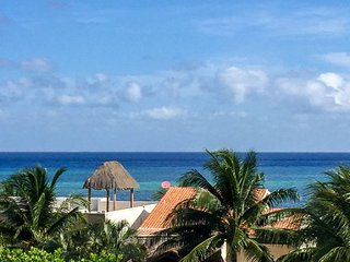 Las Tres Vistas (3) - Two Story Condo With Sweeping Ocean Views - Cozumel vacation rentals
