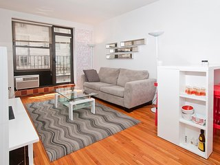 Spacious 1BR w/ Balcony near Columbus Circle - Manhattan vacation rentals