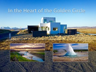 Luxury, Modern Amazing river view on Golden Circle - Selfoss vacation rentals