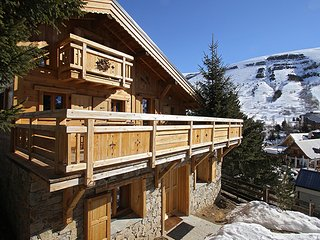 Chalet with 3 rooms in Les 2 Alpes, with wonderful mountain view, terrace and WiFi - Les Deux Alples vacation rentals