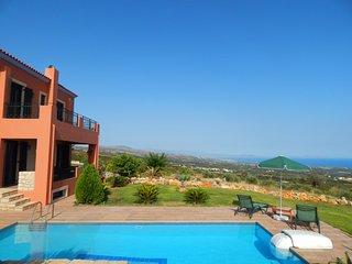 Michail Villa II, great sea views, unique location - Skouloufia vacation rentals