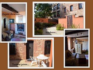 Grand studio meublé avec terrasse - Thuir vacation rentals