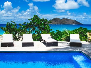 Lovely 2 bedroom Saint Barthelemy Villa with A/C - Saint Barthelemy vacation rentals