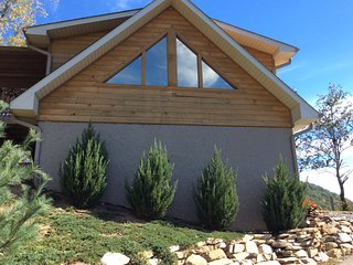 Immaculate one bedroom cabin with spectacular view - Waynesville vacation rentals