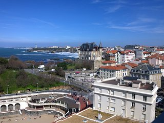 T3 vue océan, parking à 2min de la plage - Biarritz vacation rentals