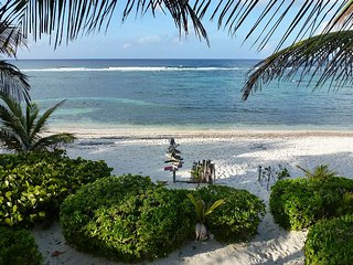 Beautiful Ocean Front Villa with White Sandy Beach - North Side vacation rentals