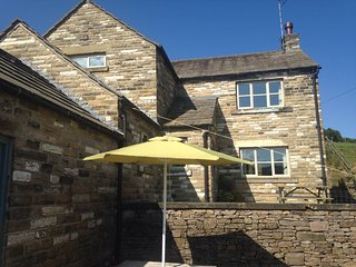 Peak District Farmhouse for Ten with Stunning Views of The Cheshire Matterhorn - Wincle vacation rentals
