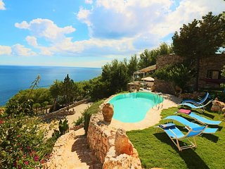 Case-vacation-with-swimming-in-a-Leuca Salento-panoramic-CVR-933 - Castrignano del Capo vacation rentals