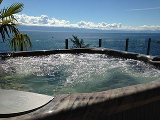 The Best Ocean Front View Deck in Sooke - Sooke vacation rentals