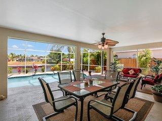 Villa Chandara 3 bed/2 bath Gulf access Pool Home - Cape Coral vacation rentals