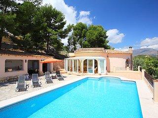 3 bedroom Villa in La Nucia, Costa Blanca, Spain : ref 2015981 - Xirles vacation rentals