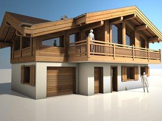 Chalet Charpoua, brain new construction 2016 - Les Praz-de-Chamonix vacation rentals