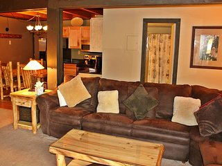 Two Bedroom Condo with central location, clubhouse, fireplace and wifi - Silverthorne vacation rentals