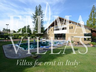 Perfect Villa with A/C and Satellite Or Cable TV - Lubriano vacation rentals