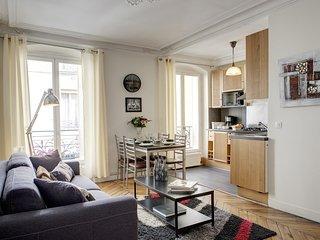 Apartment Beauregard I Paris apartment 2nd, Paris flat in city center, Luxury Paris weekly rental, two bedroom rental Paris - 2nd Arrondissement Bourse vacation rentals