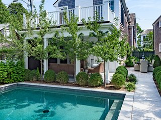ALLNW - Historic Luxury Retreat with Pool, Village Location, Walk to In-town Beaches,  Steps to Main St, Gourmet Dining, Boutique Shops - Chappaquiddick vacation rentals