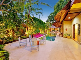 LUXE BALI VILLA 4 BRM - SALTED LAP-POOL FOR THE HEALTH CONSCIOUS - SLEEPS 9 - Seminyak vacation rentals