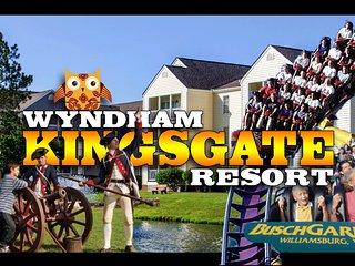 Wyndham Kingsgate Resort ツ 1BR Sleeps 4 Condo! - Williamsburg vacation rentals