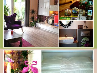 King size bed, own bathroom, garden. - Offenbach vacation rentals