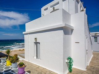 Traditional Cycladic Waterfront House - Triovassalos vacation rentals