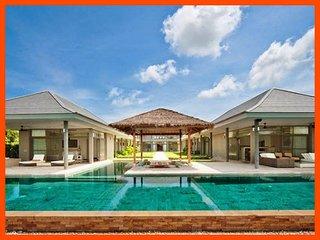 Villa 192 - Beach front luxury (5 BR option) continental breakfast included - Plai Laem vacation rentals