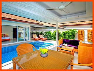 Villa 86 - Perfect for couples very private with pool - Plai Laem vacation rentals