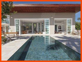 Villa 114 - Walk to beach swim play drink eat sleep walk to villa jump in pool - Choeng Mon vacation rentals