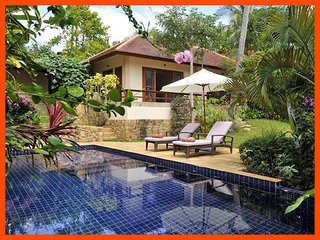 Villa 56 - Walk to beach (2 BR option) continental breakfast included - Choeng Mon vacation rentals