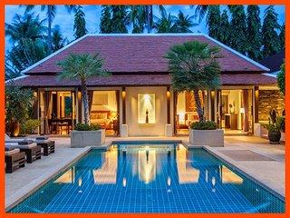 Villa 183 - Walk to beach (2 BR option) continental breakfast included - Bophut vacation rentals