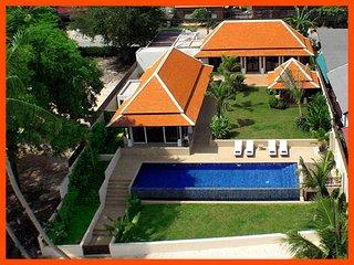 Bright Villa with Deck and Internet Access - Bophut vacation rentals