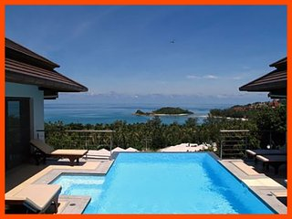 Villa 83 - Walk to beach swim play drink eat sleep walk to villa jump in pool - Choeng Mon vacation rentals