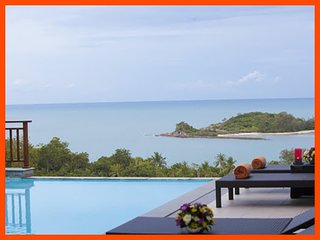 Villa 73 - Walk to beach swim play drink eat sleep walk to villa jump in pool - Choeng Mon vacation rentals