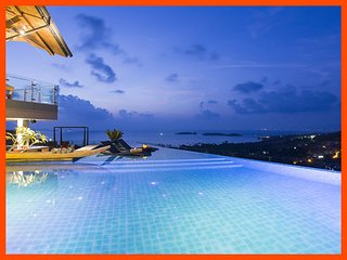 Villa 141 - Sea view luxury with Thai chef service - Choeng Mon vacation rentals