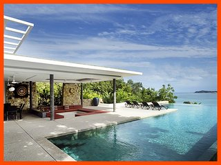 Villa 90 - Unique and stylish with infinity pool and sea views - Choeng Mon vacation rentals