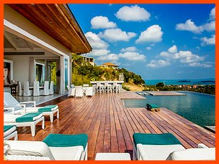 Villa 78 - Sea View (4 BR option) with Thai chef service - Choeng Mon vacation rentals