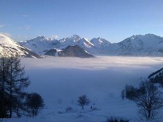 COSY DUPLEX SOUTH FACING MASING VIEW!!!! - L'Alpe-d'Huez vacation rentals