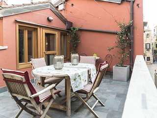 The Red House - House with 2 terraces, it is a 140mq + terrace flat built in - Venice vacation rentals