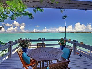 Perched atop coral reefs and surrounded by the turquoise waters of Chalk Sound National Park - Sapodilla Bay vacation rentals
