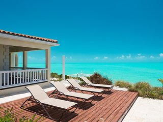 2-storey beachfront villa with sweeping sea views from every room - Leeward vacation rentals